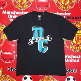 Kaos DC build up (tanpa jahitan samping)