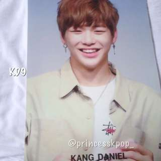 WANNA ONE KANG DANIEL POSTER