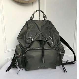 Burberry nylon rucksack Dark Grey