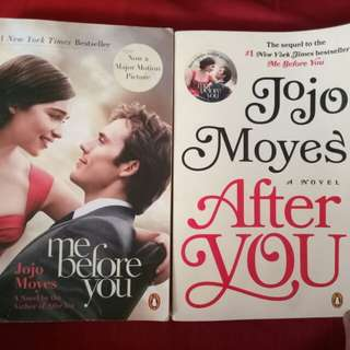 Me Before You & After You (complete set)