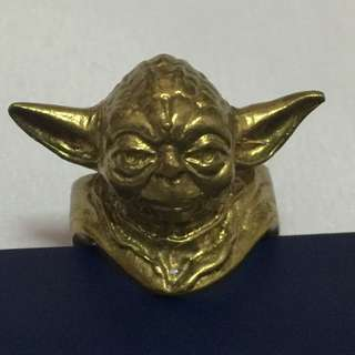 Star Wars Yoda vintage ring