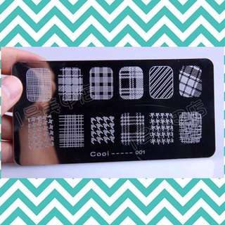 🍀BN Nail Stamping Plate