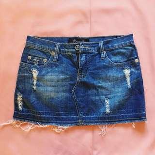 Denim Skirt 01