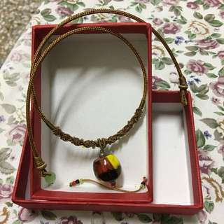 海角七號幸福琉璃珠頸鍊