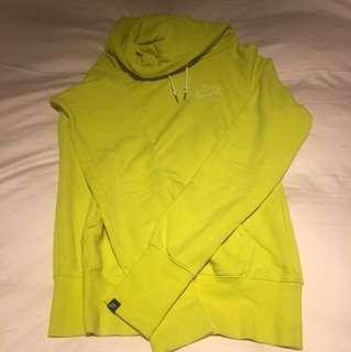Nike黃色帽踢