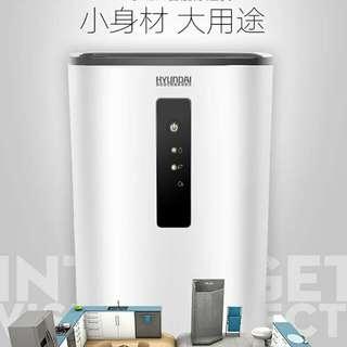 韩国现代除湿机家用卧室迷你吸湿干衣空气净化静音去潮小型抽湿器