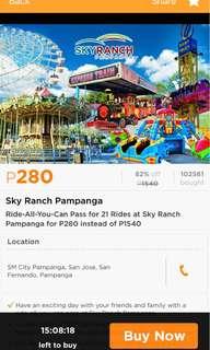 ride-all-you-can at SKYRANCH PAMPANGA