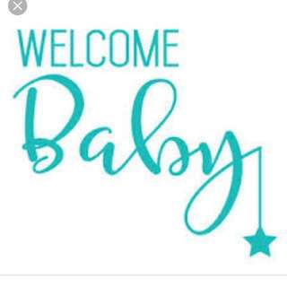 Welcome baby hamper / clearance (medela freestyle breastpump, Chicco baby carrier, clothes, food utensils & more)