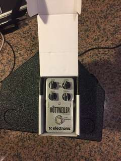 Distortion pedal Rottweiler