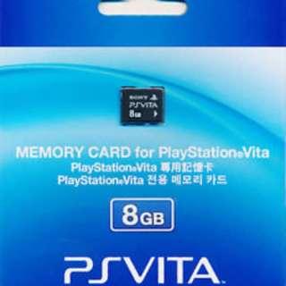 PS Vita 8GB Memory Card