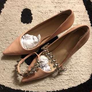 🌸pink 3 way high heels