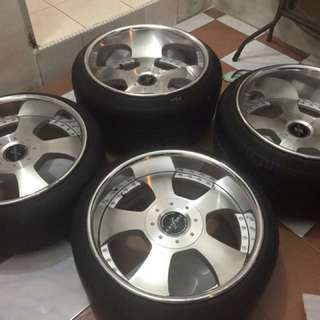 18inch Fabulous Original Deep lips rims