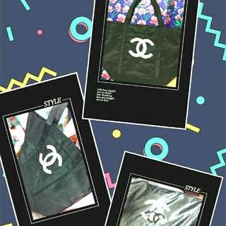 2款全新Chanel大袋(1比1高仿~代朋友放~不散買)