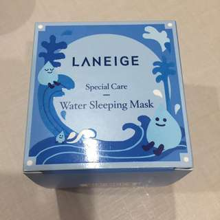 BNIB Laneige special care water sleeping mask