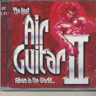The Best Air Guitar Album in the World... Vol II By Various Artists (2-CD) 2002 Virgin (MADE IN EU)[x7]