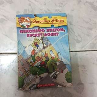 Geronimo Stilton-Geronimo Stilton,Secret Agent