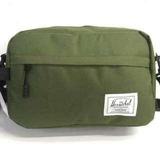Herschel Clutch and Sling Bag