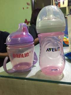 Avent baby feeding bottle