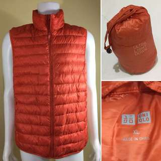 Uniqlo Ultra Light Down Vest with pouch