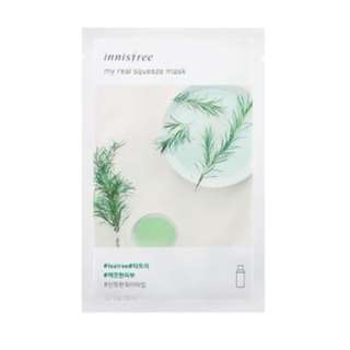 Innisfree My Real Squeeze Mask - Tea Tree 20ml [NEW ARRIVAL]