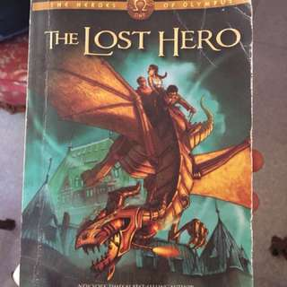 Rick Riordan - The lost hero