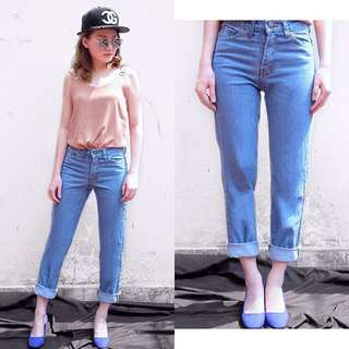 Boyfriend jeans medium blue