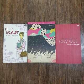 Paket Novel Dan Kumpulan Cerita Pendek