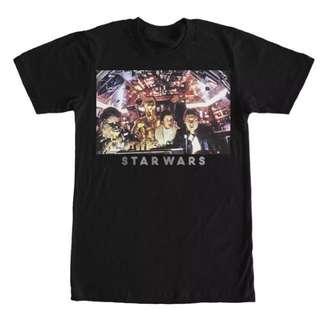 Star Wars Millennium Falcon Crew T Shirt