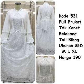 Gamis putih #531