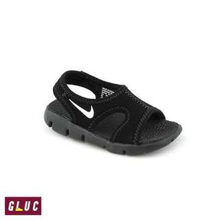 Nike Todler Sunray Adjust 9 Black White Original