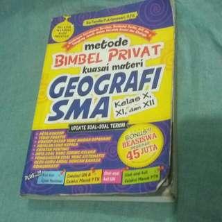 Buku panduan dan rumua geografi sma