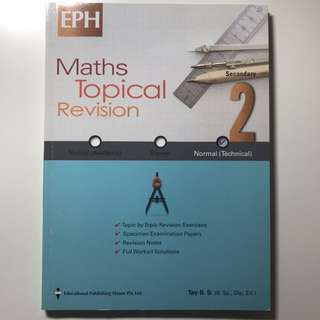 Math Topical Revision Sec 2 NT