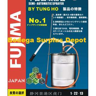 FUJIMA JAPAN S.S knap sprayer 16L