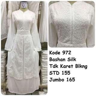 Gamis putih #972