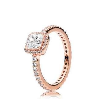 Rose Gold Timeless Elegance Ring