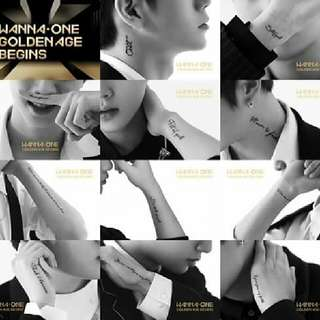 [GO] Wanna One Golden Age Begins Album