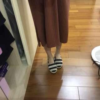 Rei shop 購入 麂皮草編娃娃鞋