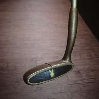 1960 Rare Playboy Club Brass Golf Putter