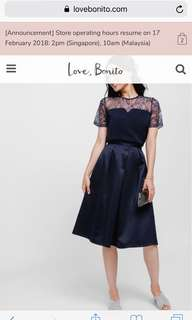 Love bonito Rylvia Satin Midi Skirt from Iylas collection