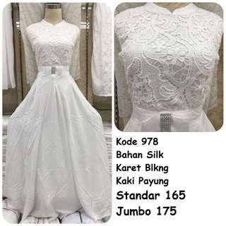 Gamis putih #978