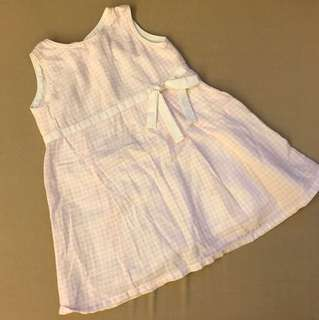 DUNE PINK & WHITE DRESS