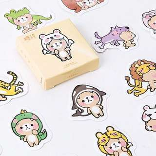 [Boxed Stickers] Bear Character