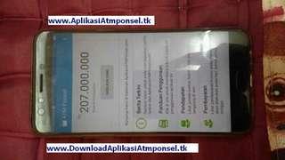 www.AplikasiAtmponsel.tk aplikasi android otomatis penghasil uang 100juta