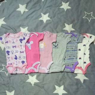 7 Pcs For $15 (Newborn)