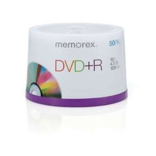 Brand New Memorex 16x DVD+R 50 Pack Spindle