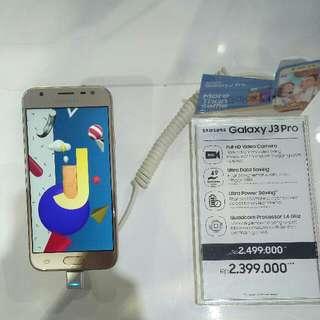 Kredit Samsung J3Pro cashback 200k Cicilan tanpa kartukredit