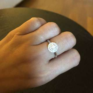 Real Diamond Lady Ring