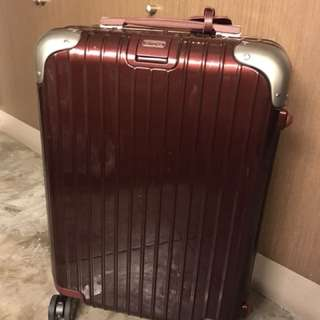 Authentic Rimowa Limbo Salsa Carry On Luggage