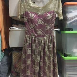 Dress Semi Kebaya