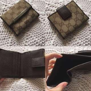 包郵 💌 Gucci 經典款 銀包 classic wallet
